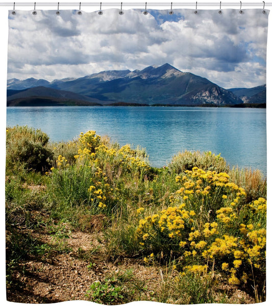 Lake Dillon Shower Curtain