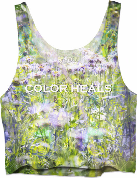 Color Heals Flowers - LIMITED EDITION - 100% of Profits are being donated to St. Jude Children's Research Hospital.