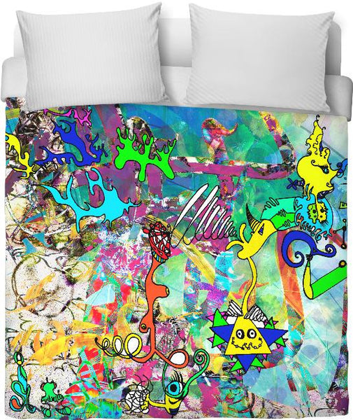 Escaping Wonderland Duvet Cover