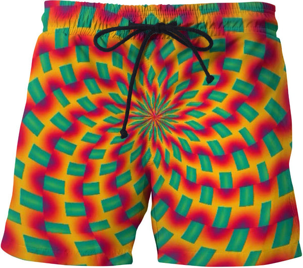 Fractal Fixation Swim Shorts
