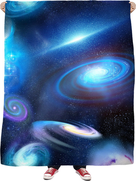 Galactic Infinity Fleece Blanket