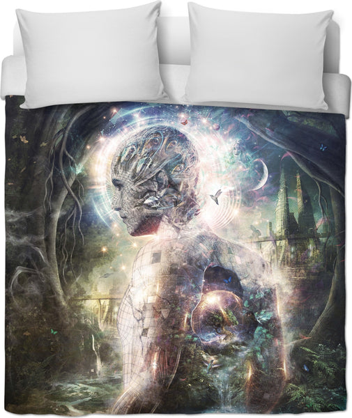 As The Dark Turns To Day - Duvet Cover