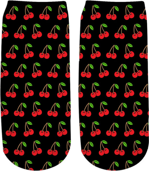 Cherries Ankle Socks