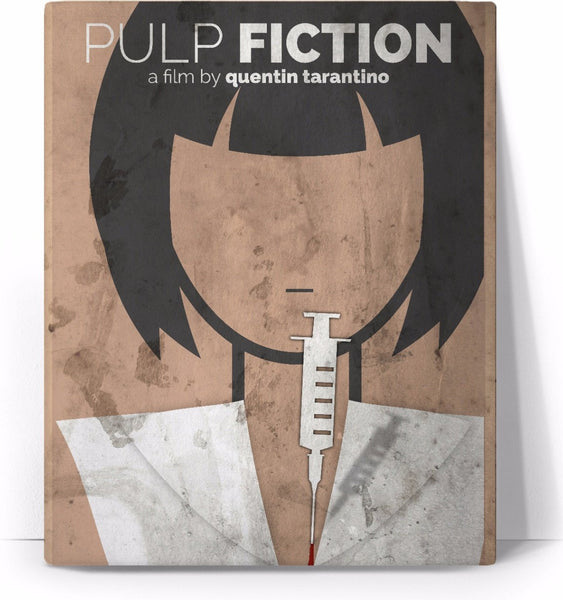 Pulp Fiction Movie Poster Canvas