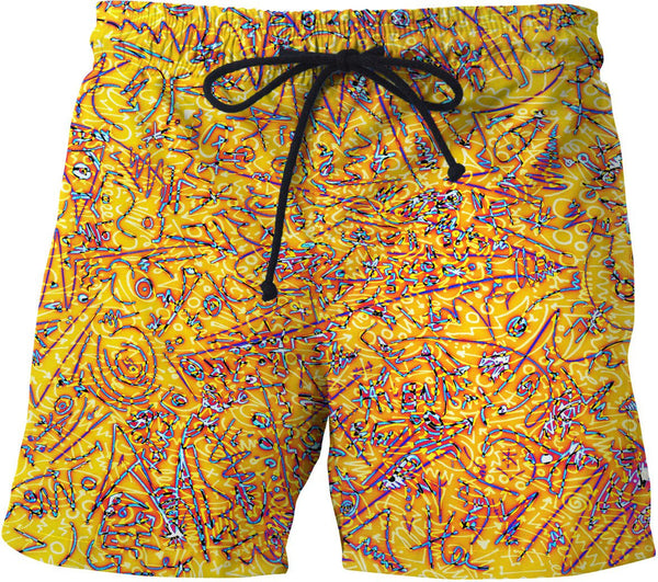 Raspberry Lemonade Swim Shorts #1
