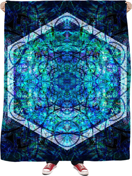 HEXA M8 Fleece Blanket