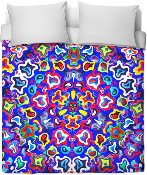 Fractal Fruit Duvet Cover
