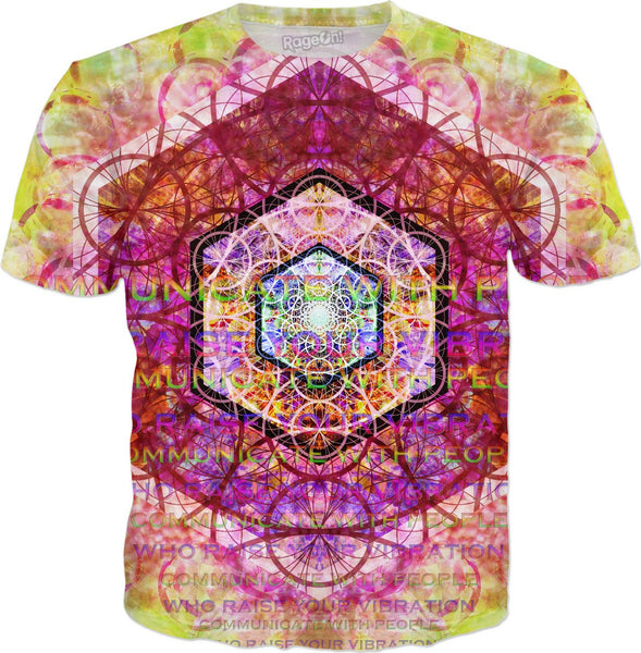 Communicate With People Who Raise Your Vibration T-Shirt