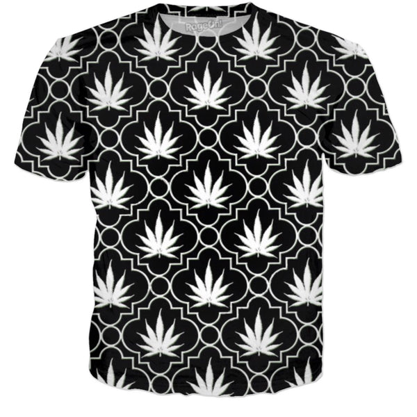 Black And White Chronic T Shirt