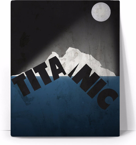 Titanic Movie Poster Canvas