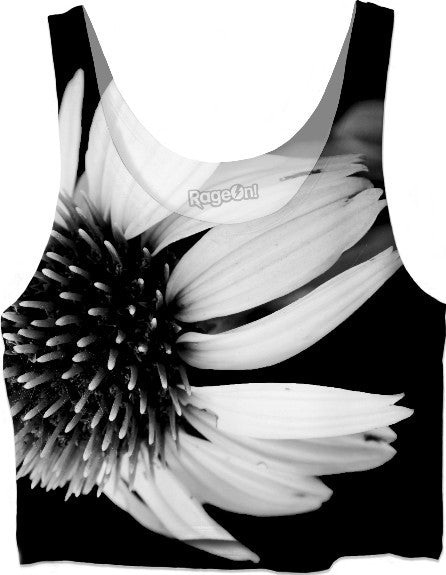 Cone Flower Crop Top