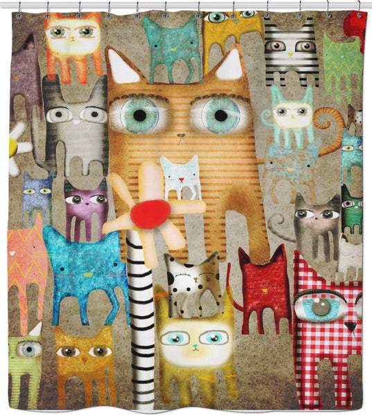 Ruth Fitta-Schulz - Cats, a bunch of Cats