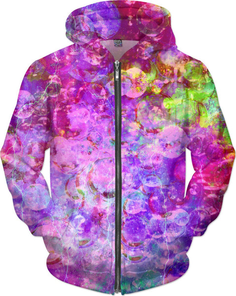 Bubble Storm Diamonds Hoodie