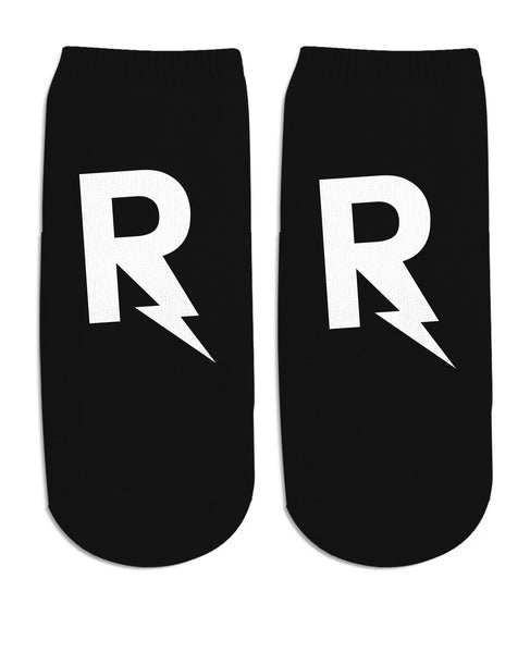 RageOn Monogram Ankle Socks