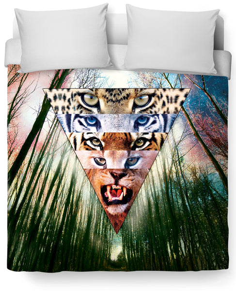 Wild Cats Duvet Cover