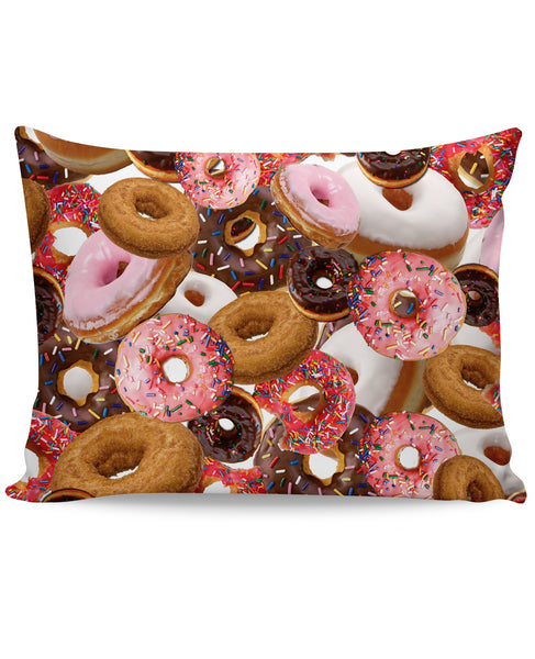 Donuts Pillow Case
