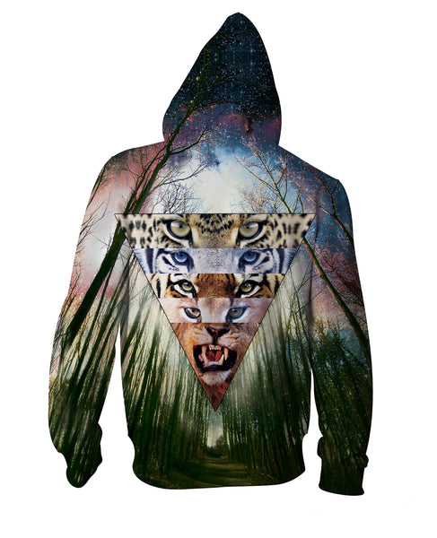 Wild Cats Zip-Up Hoodie