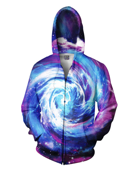 Wormhole Zip-Up Hoodie