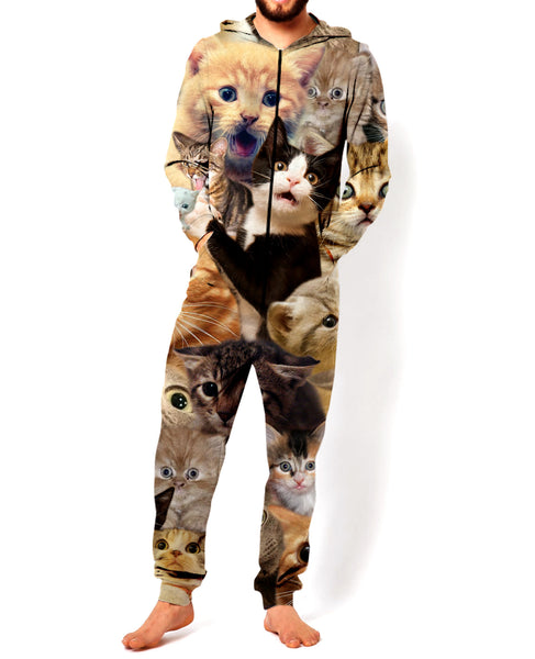 Surprised Cats Onesie