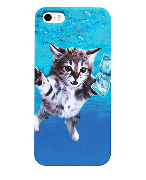 Cat Cobain Phone Case