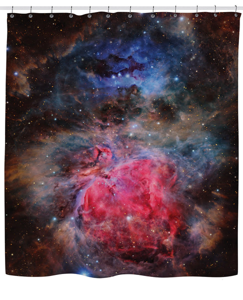 Heart of the Universe Shower Curtain