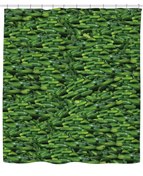 Pickles Shower Curtain