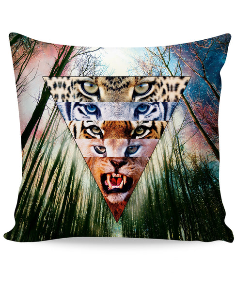 Wild Cats Couch Pillow
