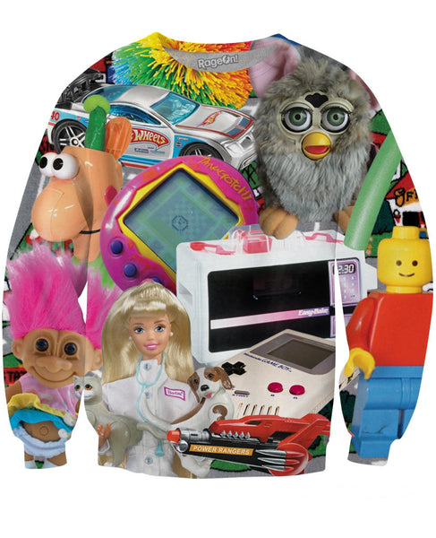 Childhood Toys Sweatshirt