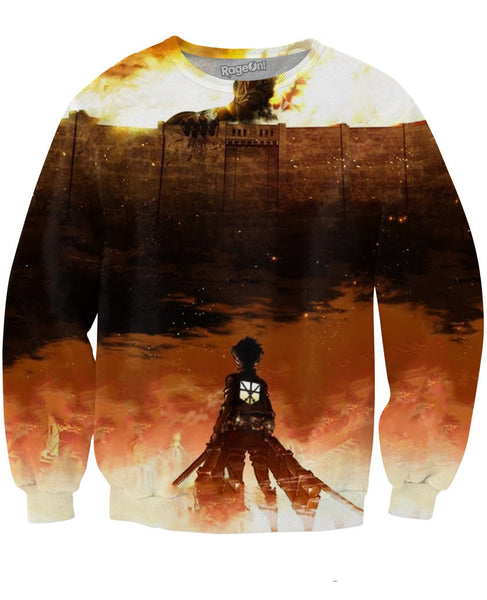Attack on Titan Crewneck Sweatshirt
