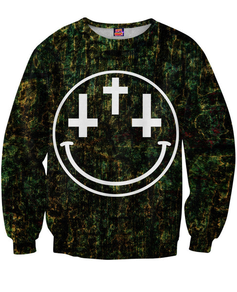 Cross Eyed Crewneck Sweatshirt