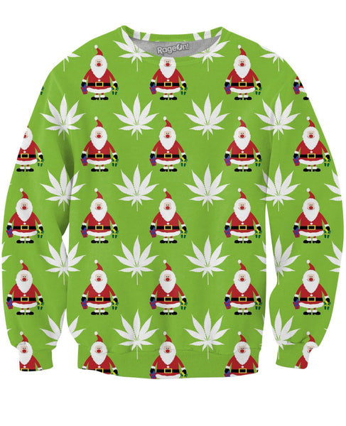 Green Christmas Crewneck Sweatshirt