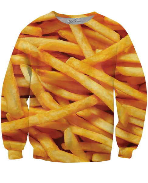 French Fries Crewneck Sweatshirt