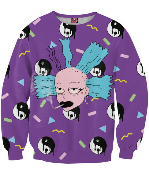 Bad Bitch Cynthia Crewneck Sweatshirt