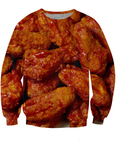 Chicken Wings Crewneck Sweatshirt