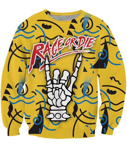 Rage or Die Crewneck Sweatshirt