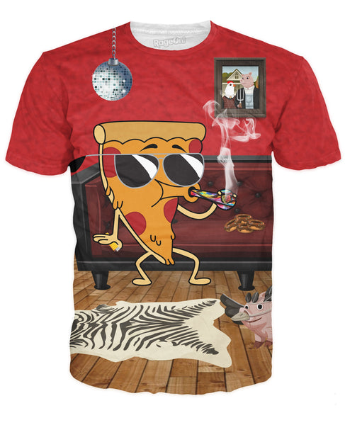 Stoned Baked Pizza T-Shirt