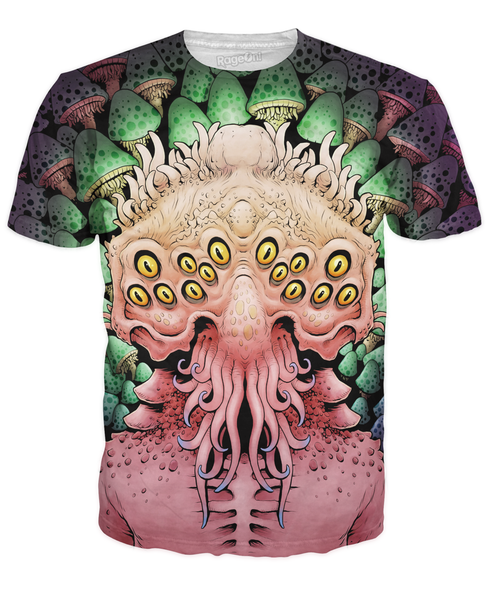 Multi Dimensional Mushrooms T-Shirt