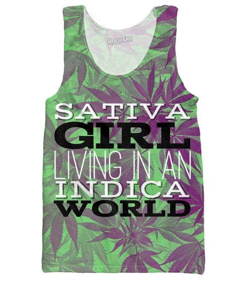 Sativa Girl Tank Top