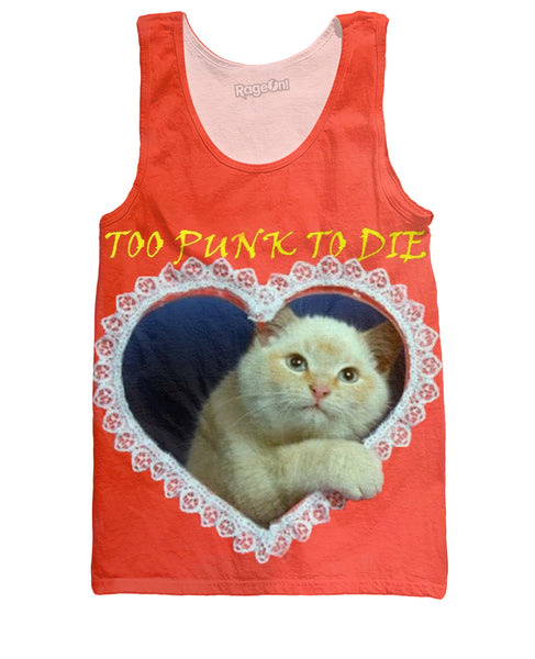 Too Punk to Die Tank Top