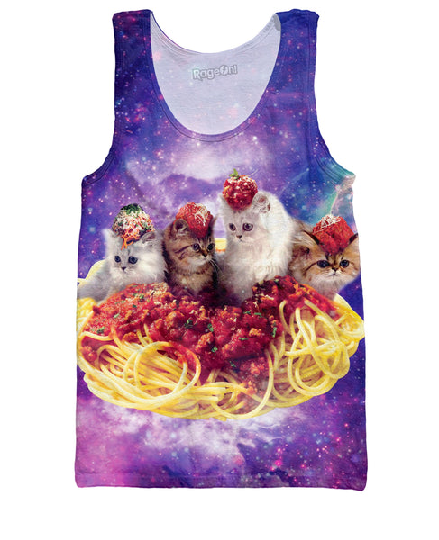 Spaghetti and Meatpaws Tank Top