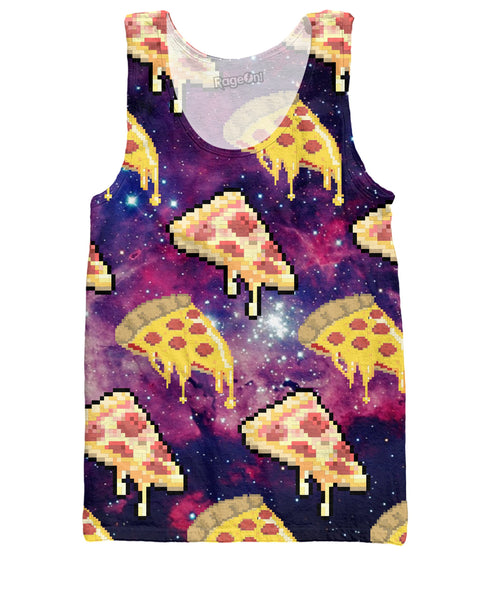 8-Bit Pizza Tank Top