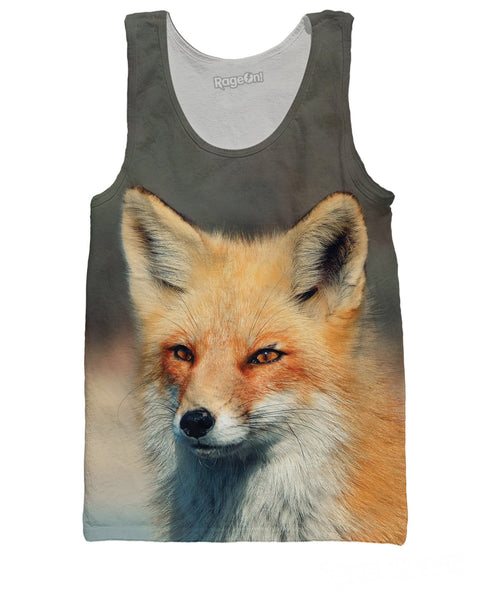Analytical Fox Tank Top