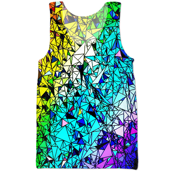 Rainbow Shards Tank Top