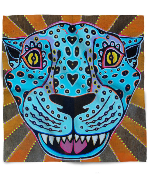 Blue Jaguar Bandana