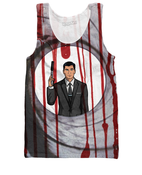 Double-0 Archer Tank Top