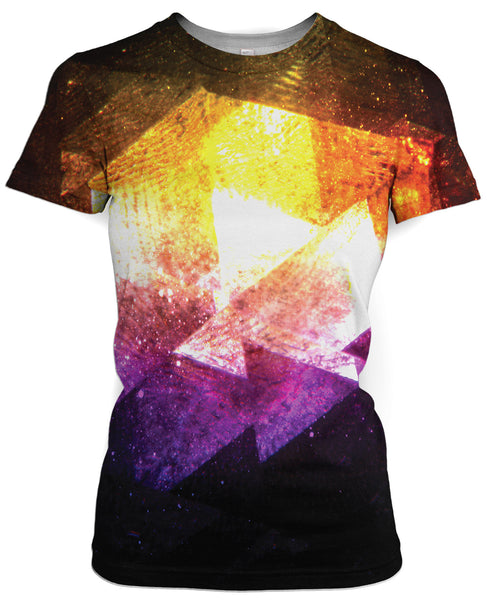 Galaxy Triangles T-Shirt