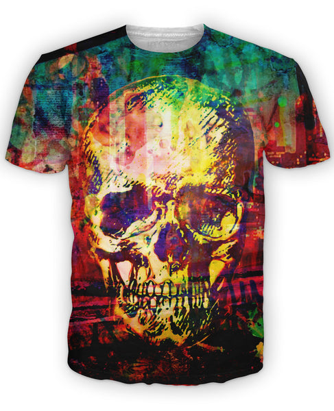 Graffiti Skull T-Shirt