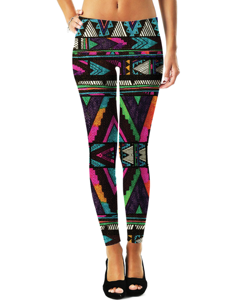 Huipil Leggings