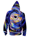 Gaze Into Eternity Zip-Up Hoodie