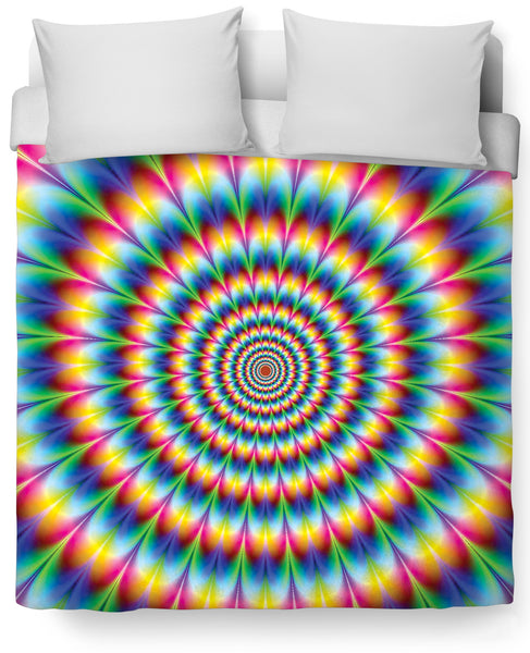 Into the Rainbow Duvet Cover